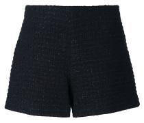 Tweed-Shorts aus Schurwolle