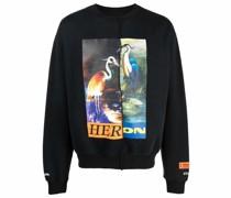 Split Light Herons Sweatshirt
