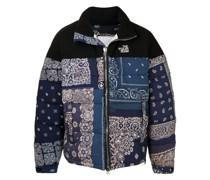 bandana-print puffer jacket