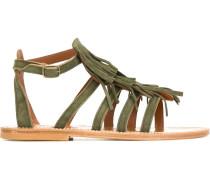 'Fregate' Sandalen mit Fransen