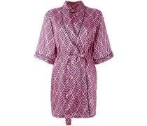 Kimono mit abstraktem Print