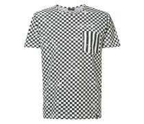 checkered T-shirt