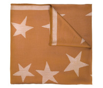 Schal mit Sterne-Print