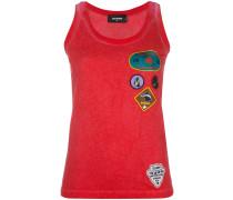 patch appliqué vest