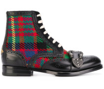 Queercore brogue boots