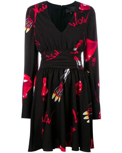 'Markab' Kleid - women - Polyester/Acetat - M