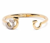 Gancini Armband mit Kristallen