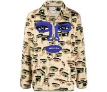 x KidSuper Sweatshirt mit Reißverschluss