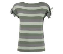 Gestreiftes T-Shirt - women - Viskose/Polyester