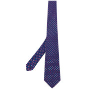 dotted pattern tie - men - Seide - Einheitsgröße