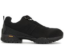 Sneakers mit Canvas-Einsatz
