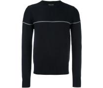 Sweatshirt mit Linie auf der Brust