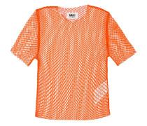 NetzTShirt mit rundem Ausschnitt