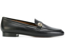 Loafer mit Monogramm-Applikation