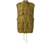 cargo vest - women - Seide - S