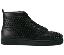 studded Louis high-top sneakers
