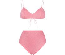 'Miami' Bikini in Glitter-Optik