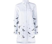 Gestreiftes Hemd mit Pailletten - women