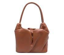 Handtasche mit Raffung