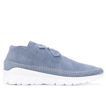 lace sneakers - men - Leder/Wildleder/rubber