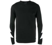 - Langarmshirt mit Blitz-Print - men - Baumwolle