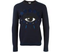 'Eye' Pullover - men - Polyamid/Wolle - L