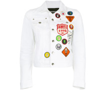 patch denim jacket