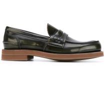 Penny-Loafer mit Kontrastsohle