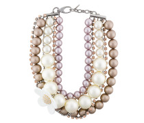 daisy pearl statement necklace
