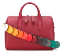 Handtasche mit buntem Schulterriemen