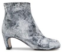'Tibi' Stiefel mit Schlangen-Effekt