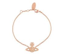 Rotvergoldetes 'Grace Bas Relief' Armband mit