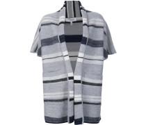 shortsleeved blanket cardigan
