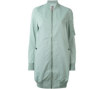 long bomber jacket - women - Baumwolle/Polyamid