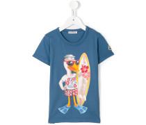T-Shirt mit Enten-Print