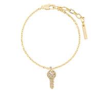 key pendant bracelet