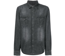 Counting denim shirt
