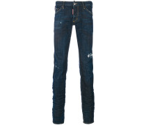 'Clement' Jeans in Distressed-Optik