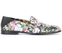 Loafer mit floralem Print - women