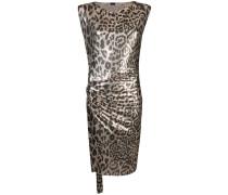 Kleid mit Leo-Muster