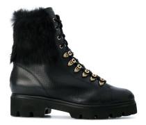 fur detail boots