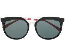 Sonnenbrille mit Horngestell
