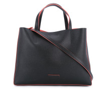 Handtasche mit kontrastierenden Details