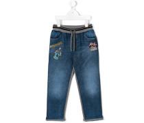 Jeans mit Patchwork - kids