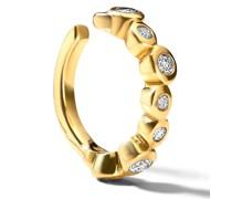 18kt Starlet Ear Cuff aus Gelbgold mit Diamanten