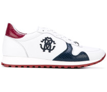Sneakers mit LogoApplikation
