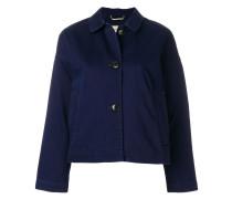 buttoned boxy jacket