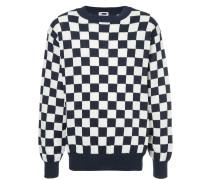 Kariertes Sweatshirt