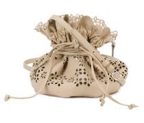 - Perforierte Hobo-Tasche - women - Leder