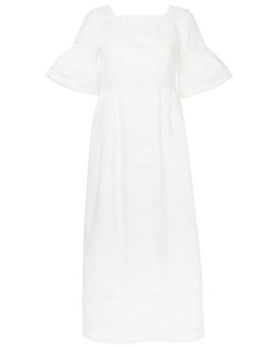 'Sarafina' Kleid mit Lochstickerei